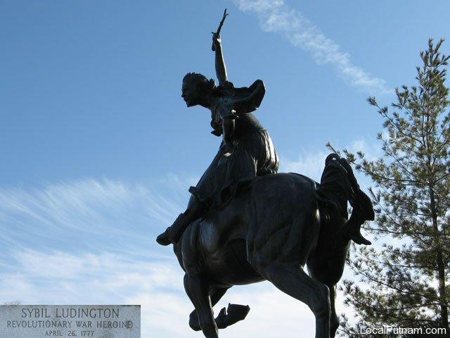 Sybil Ludington Monument