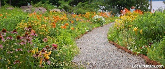 Warner House Flower Garden