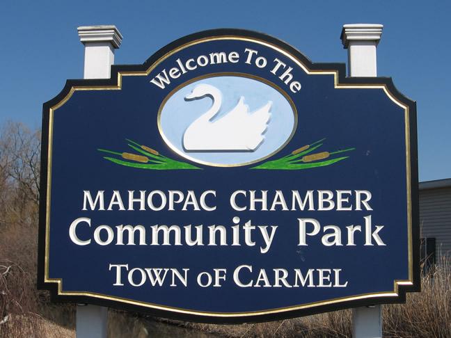 Mahopac Chamber Community Park Sign
