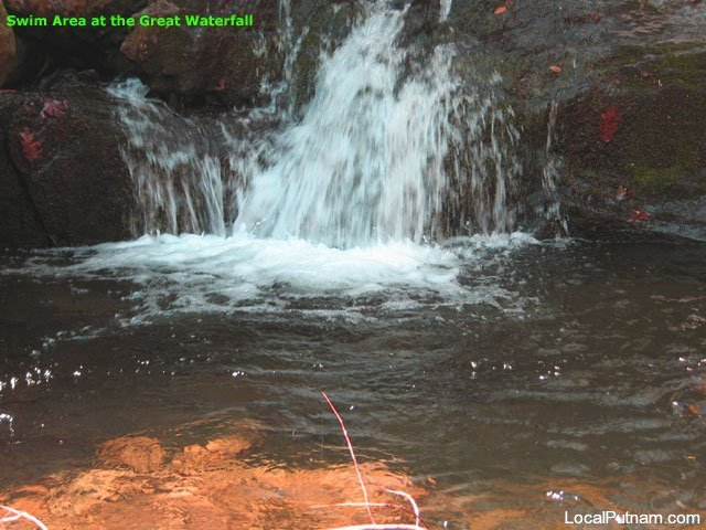 The Great Waterfall Swimming area