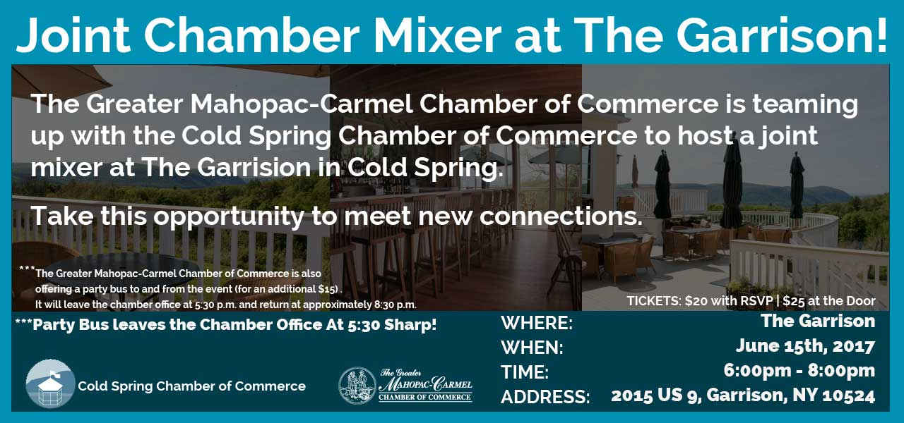 June Joint Chamber Mixer at The Garrison